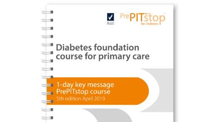 1-day PrePITstop course diabetes