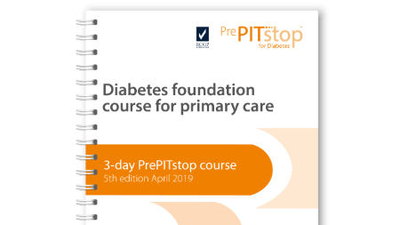 3-day PrePITstop Foundation course – diabetes management in primary care